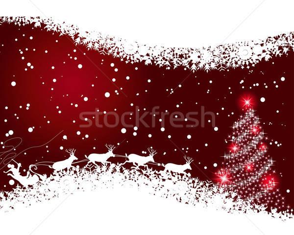 Сток-фото: Рождества · красивой · вектора · Новый · год · дизайна · текстуры