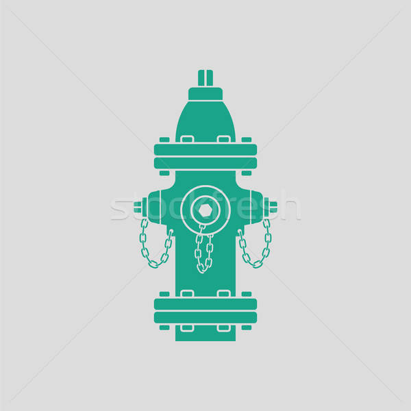 Fire hydrant icon Stock photo © angelp