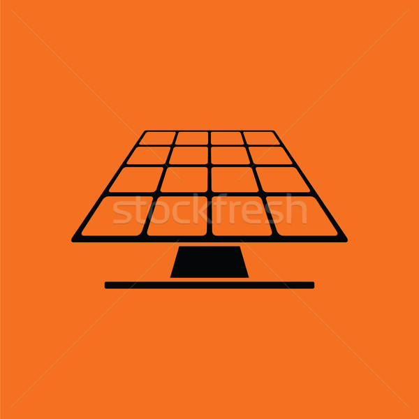 Solar energy panel icon Stock photo © angelp