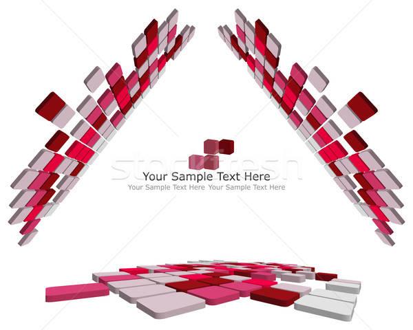 Photo stock: Résumé · 3D · affaires · web · design · design · beauté