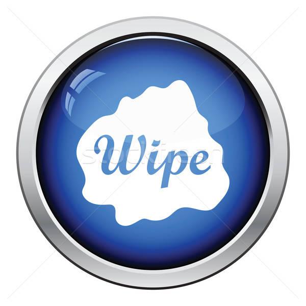 Wipe cloth icon Stock photo © angelp