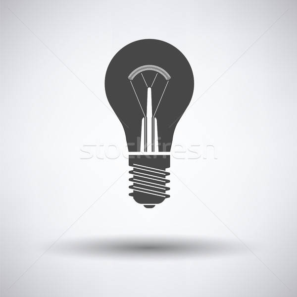Electric bulb icon Stock photo © angelp