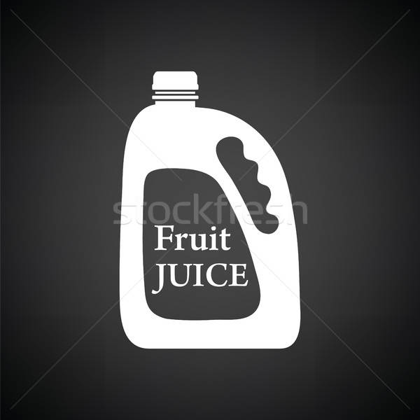 Fruit juice canister icon Stock photo © angelp