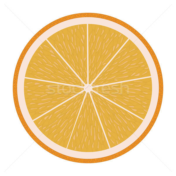 Design icône orange ui couleurs arbre Photo stock © angelp