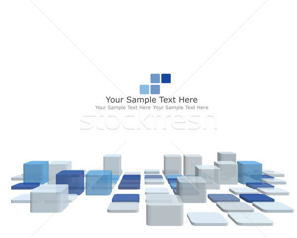 Abstract checked pattern Stock photo © angelp