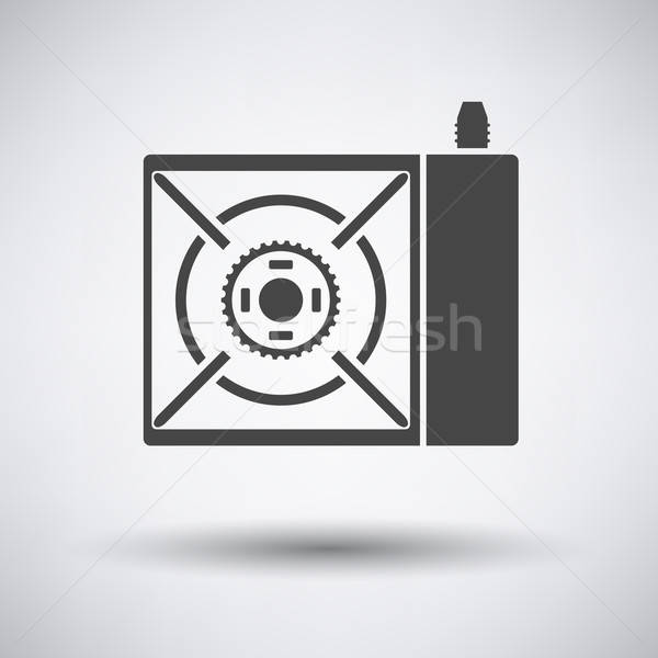 Camping gas burner stove icon Stock photo © angelp