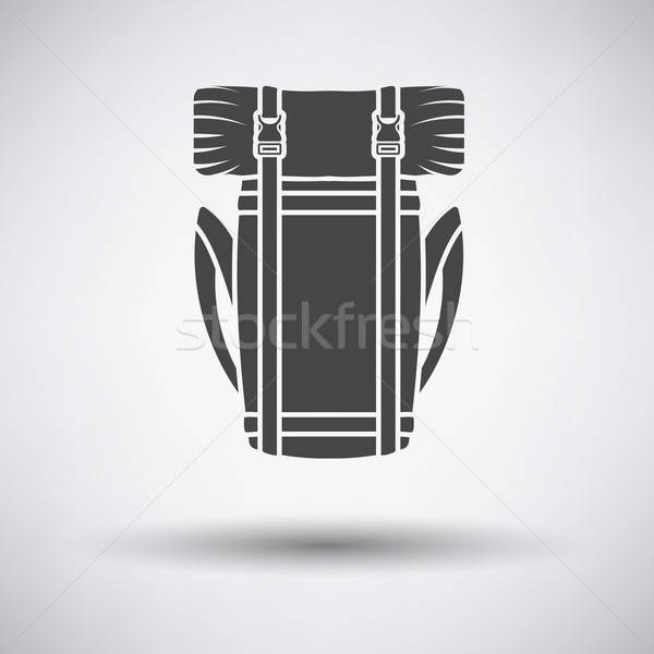 Camping backpack icon Stock photo © angelp