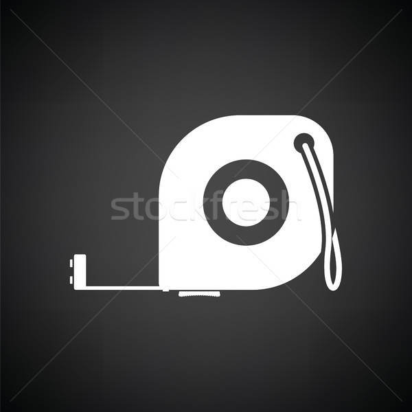 Icon of constriction tape measure Stock photo © angelp