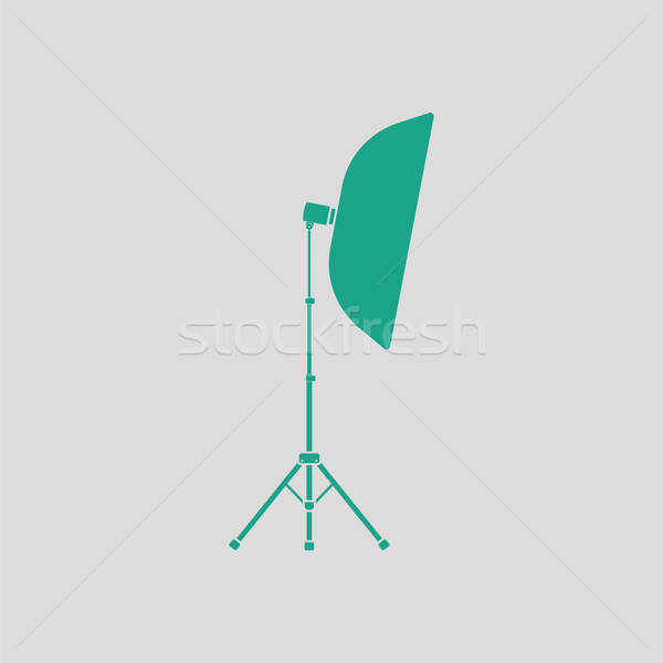 Icon of softbox light Stock photo © angelp