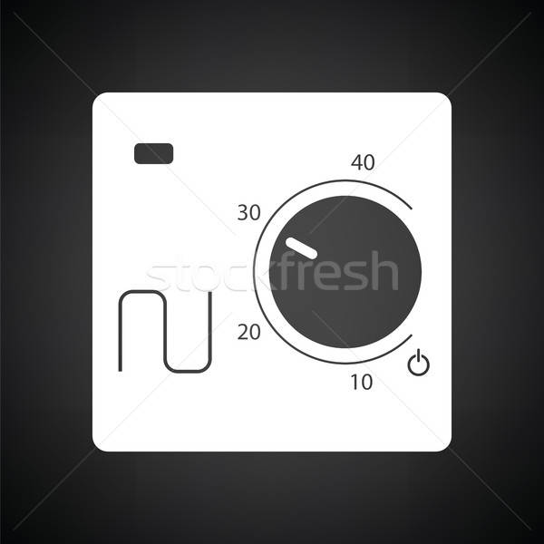 Warm floor wall unit icon Stock photo © angelp