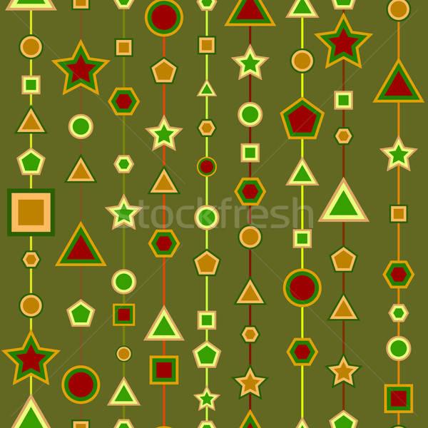 Geometria sem costura projeto fácil Foto stock © angelp