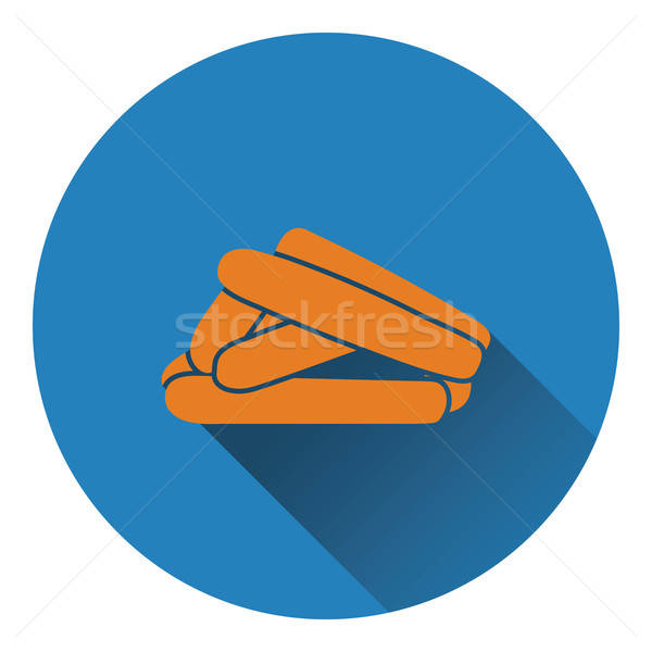 Sausages icon Stock photo © angelp