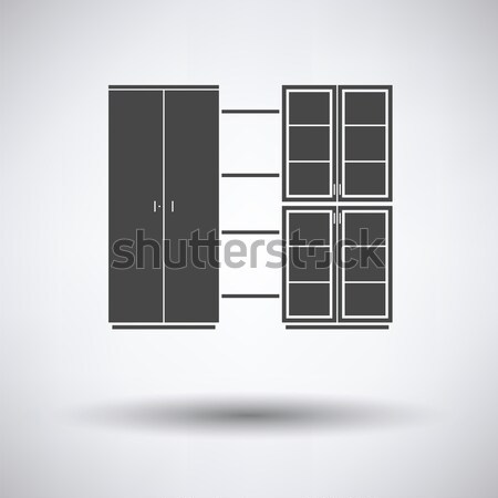 Icon of parquet plank pattern Stock photo © angelp
