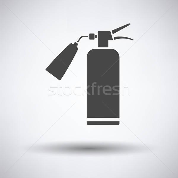 Fire extinguisher icon Stock photo © angelp