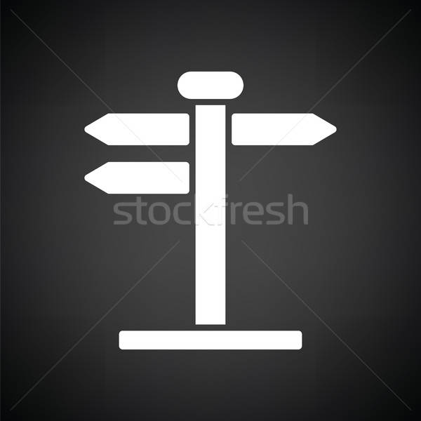 Pointer stand icon Stock photo © angelp