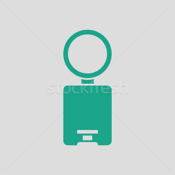 Trash can icon Stock photo © angelp