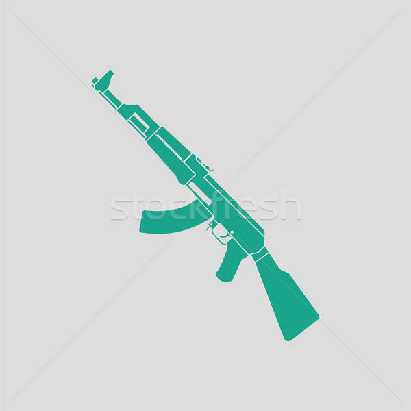 Russian weapon rifle icon Stock photo © angelp