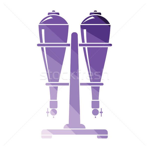 соды оборудование икона цвета дизайна воды Сток-фото © angelp