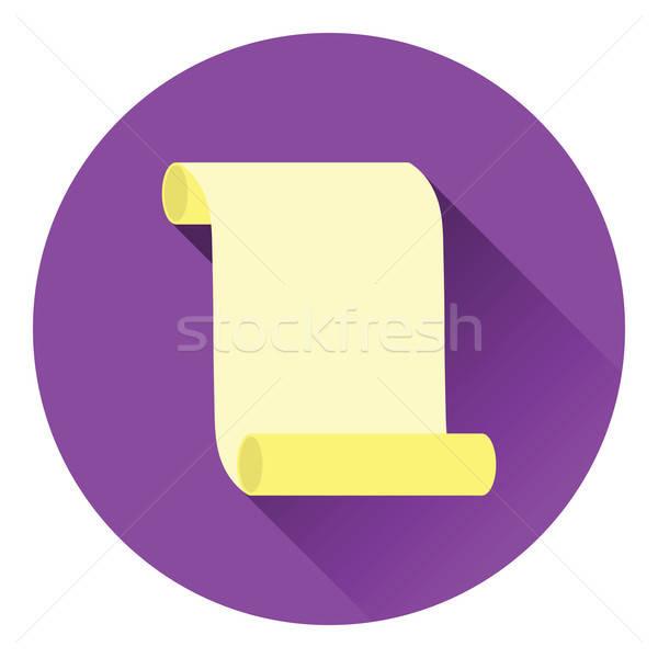Tuval ilerleyin ikon renk dizayn uzay Stok fotoğraf © angelp
