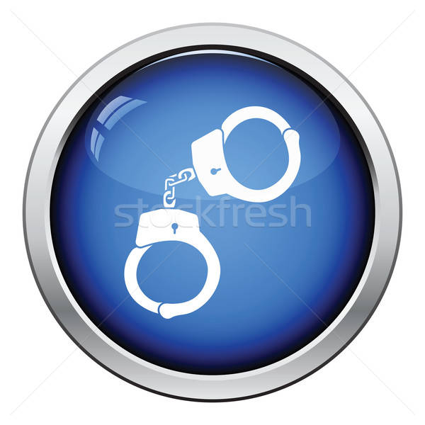 Handcuff  icon Stock photo © angelp