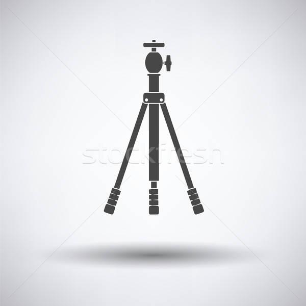 Symbol Foto Stativ grau Technologie Video Stock foto © angelp