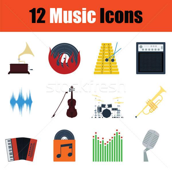 Stock photo: Music icon set
