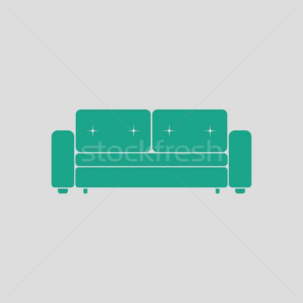 Cinema sofa icon Stock photo © angelp