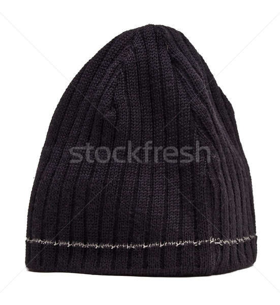 Knitted wool hat Stock photo © angelp