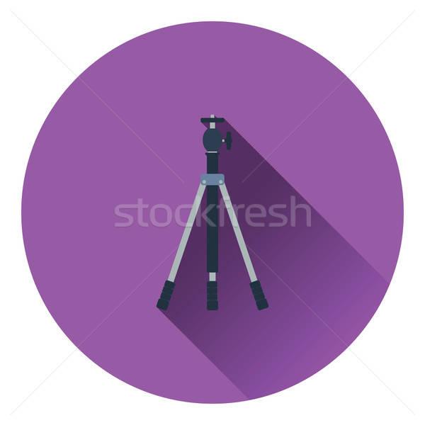 Symbol Foto Stativ Farbe Design Technologie Stock foto © angelp