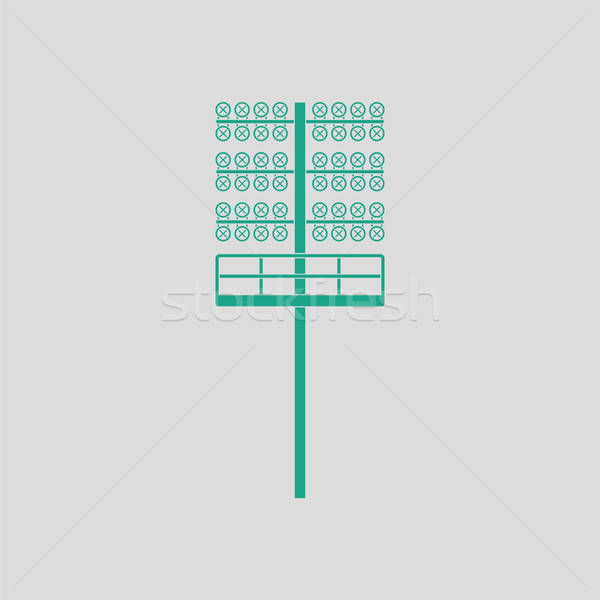 Soccer light mast  icon Stock photo © angelp