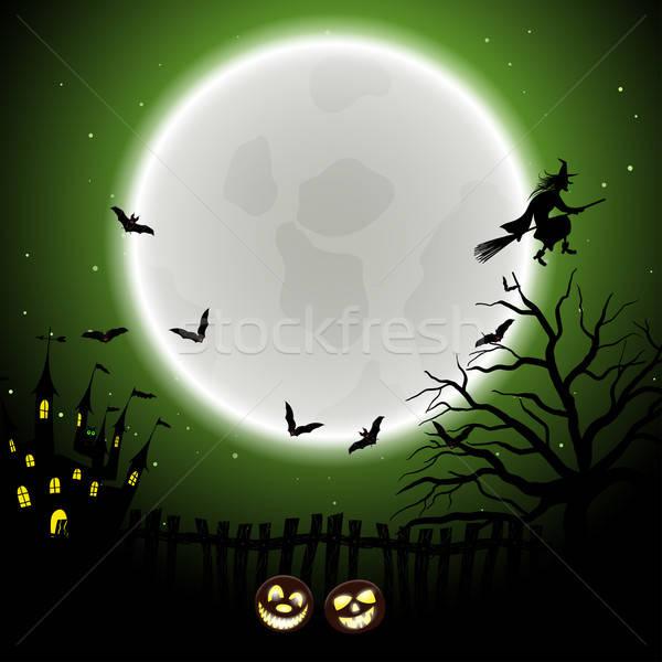 Halloween Greeting Card Stock photo © angelp