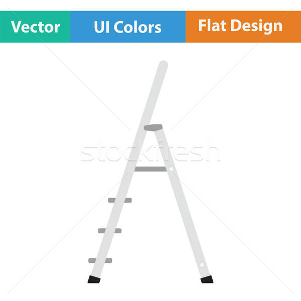 Construction ladder icon Stock photo © angelp