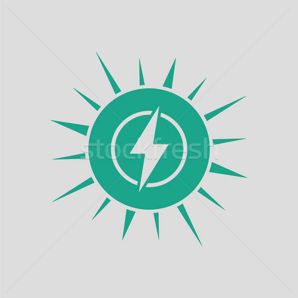 Solar energy icon Stock photo © angelp