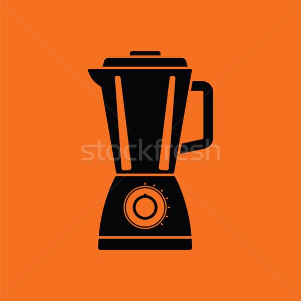 Stock photo: Kitchen blender icon