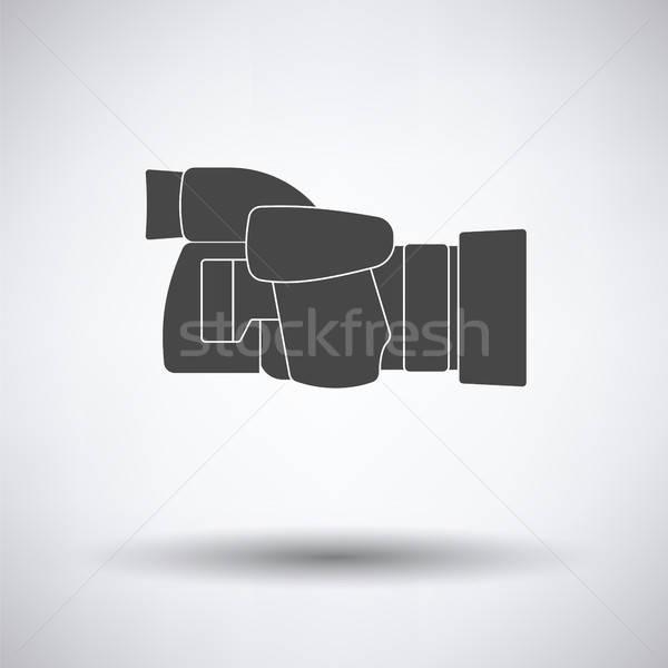 Icon of premium photo camera Stock photo © angelp