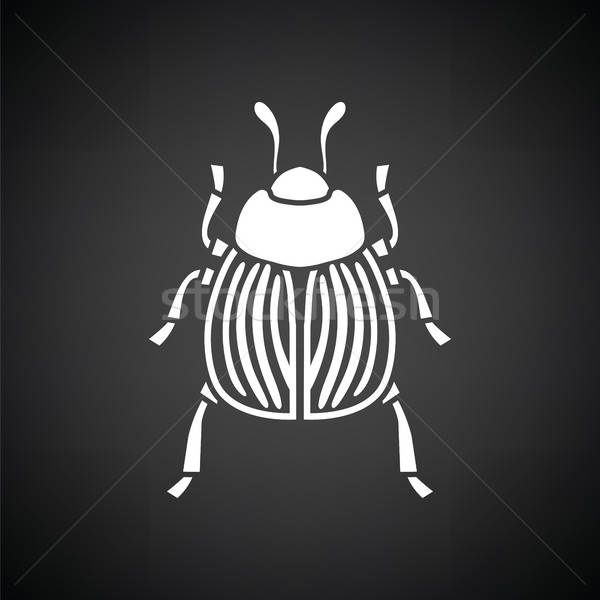 Colorado beetle icon Stock photo © angelp