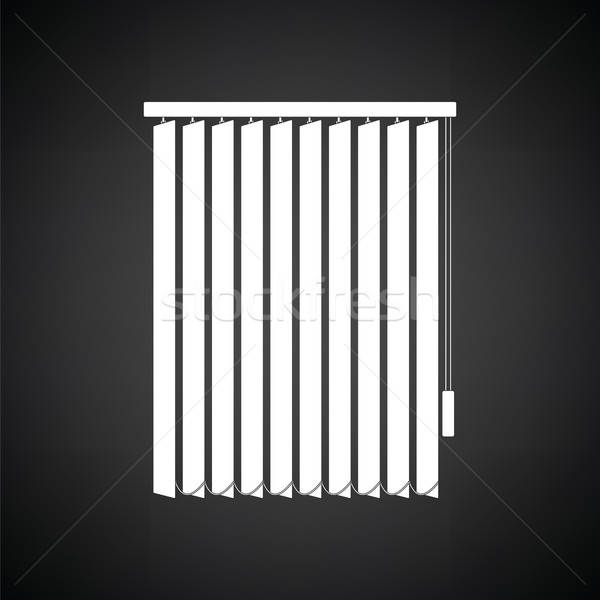 Office vertical blinds icon Stock photo © angelp