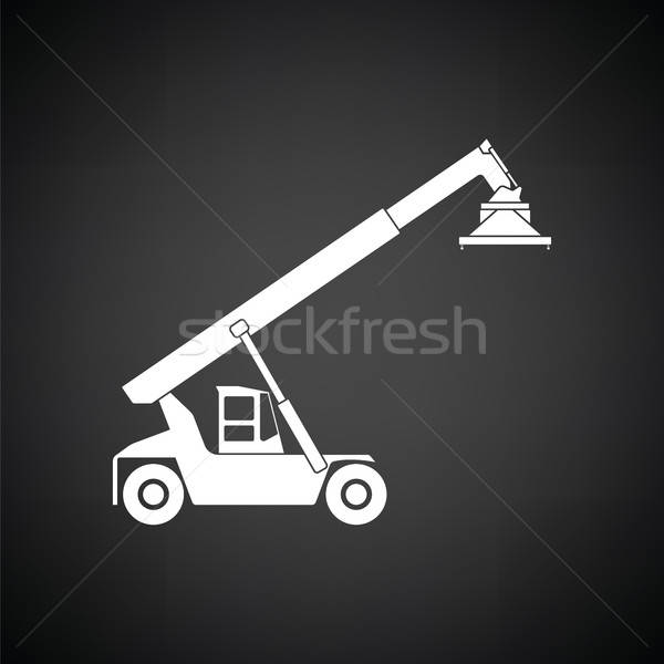 Port loader icon Stock photo © angelp