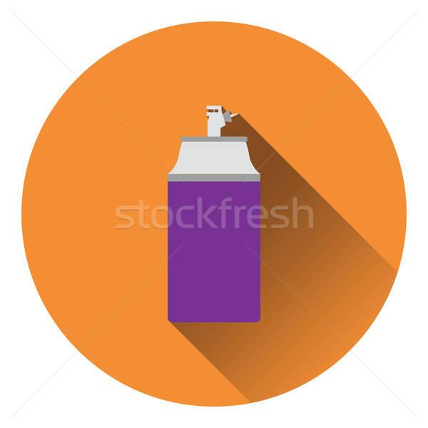 Pintar spray ícone cor projeto fundo Foto stock © angelp