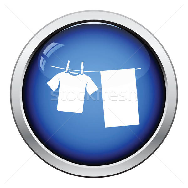 Drying linen icon Stock photo © angelp