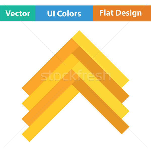 Icon kleur ontwerp huis home interieur Stockfoto © angelp
