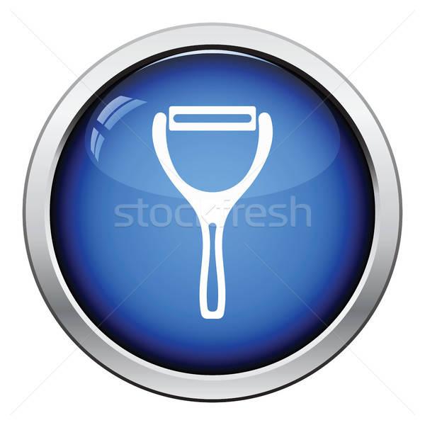 Vegetable peeler icon Stock photo © angelp