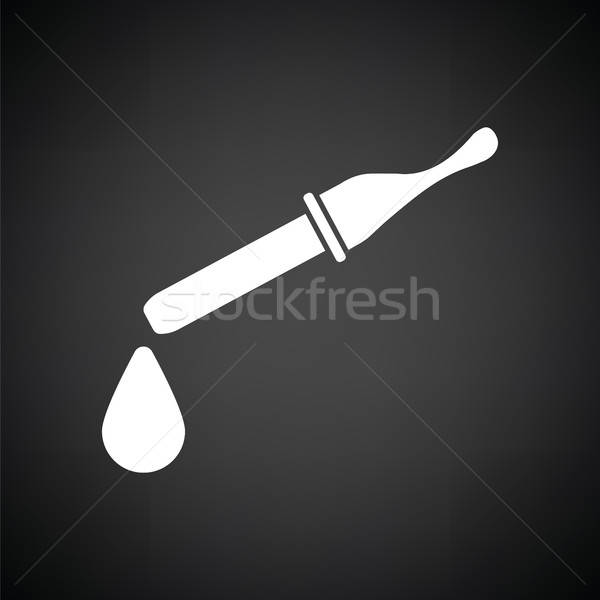 Dropper icon Stock photo © angelp