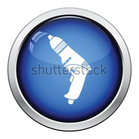 Police stun gun icon Stock photo © angelp