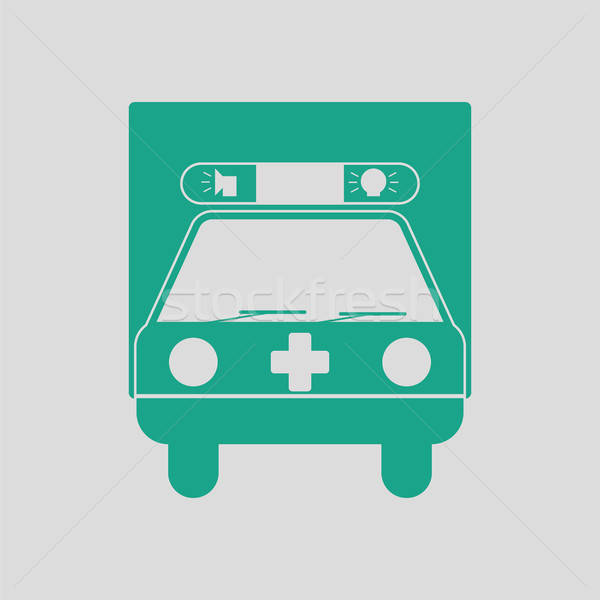Ambulance car icon Stock photo © angelp
