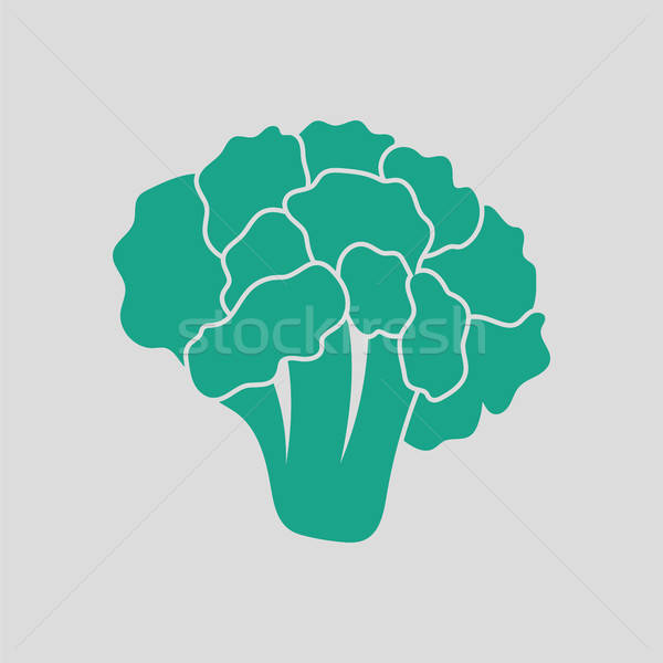 Cauliflower icon Stock photo © angelp