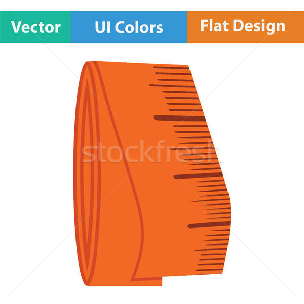 портной рулетка икона цвета дизайна лента Сток-фото © angelp
