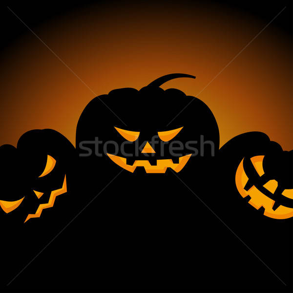 Happy halloween card Stock photo © angelp