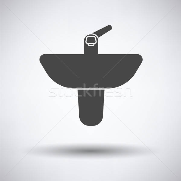 Wash basin icon Stock photo © angelp