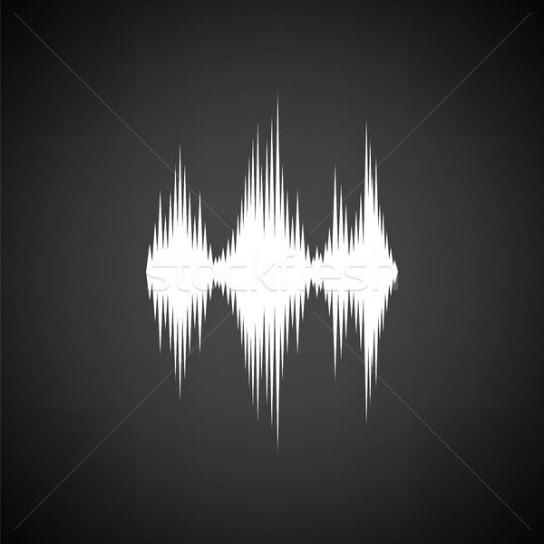 Music equalizer icon Stock photo © angelp